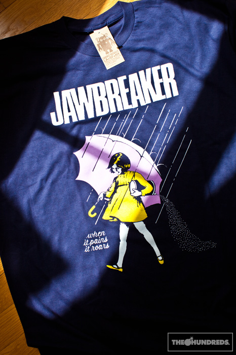 Jawbreaker T shirt Morton Salt Girl when it pains it roars ... |Morton Salt Jawbreaker