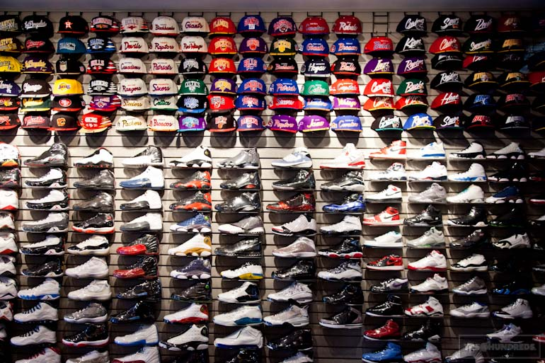 shoe wall block heads the hundreds