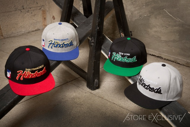 The Hundreds Spring 2013 Store Exclusives Team Snapbacks