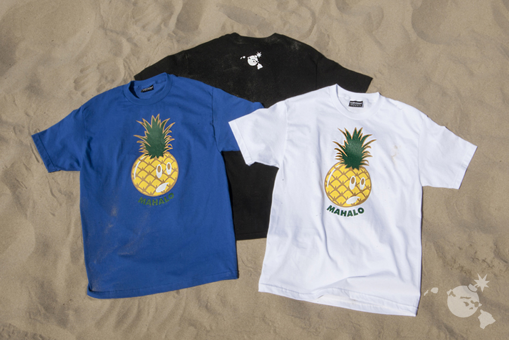 The Hundreds x Hawaii Summer 2013_Adam Pinapple Tee_11 copy