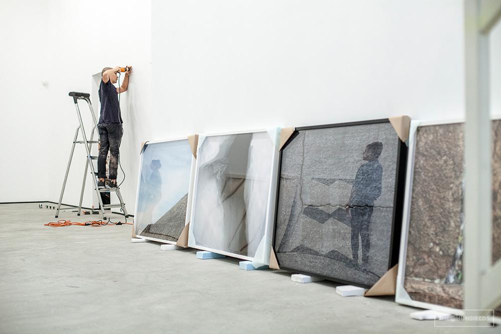Tofer, Ar install, Lu Magnus, New York, 2013._62