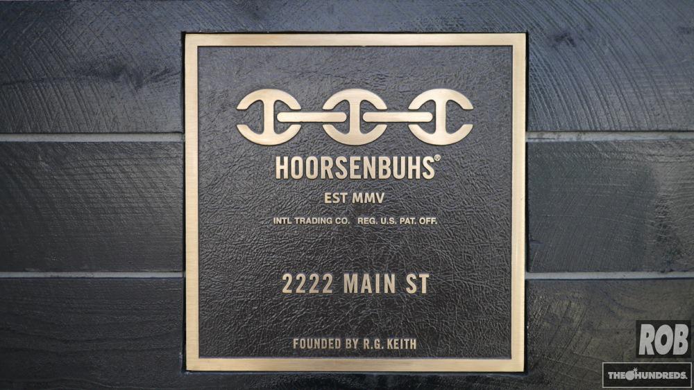 hoorsenbuhs plaque
