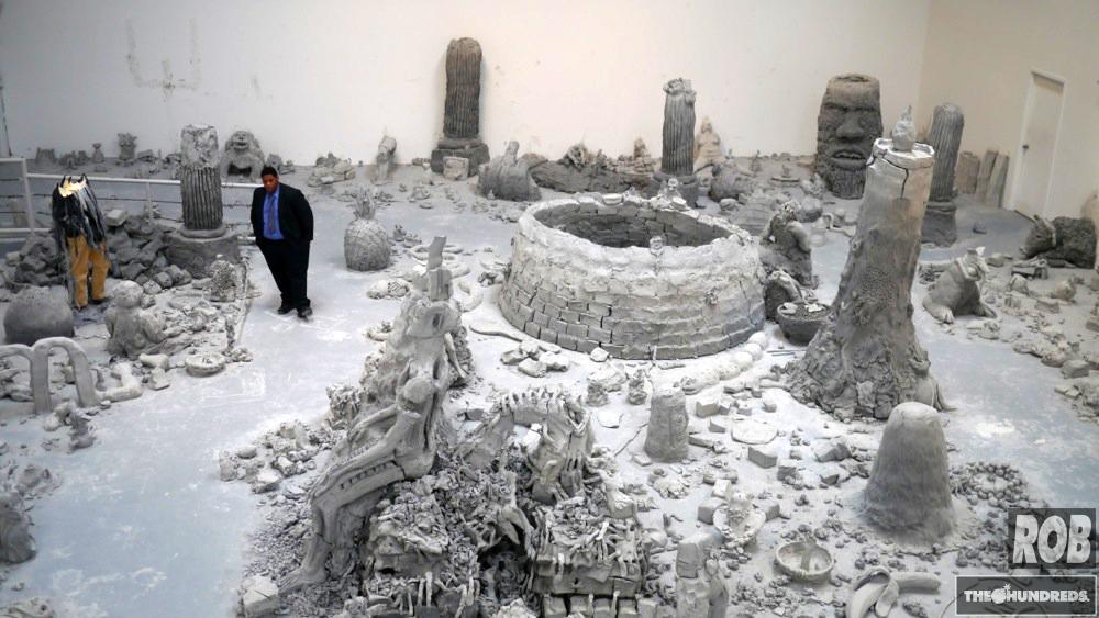 massive clay explosion