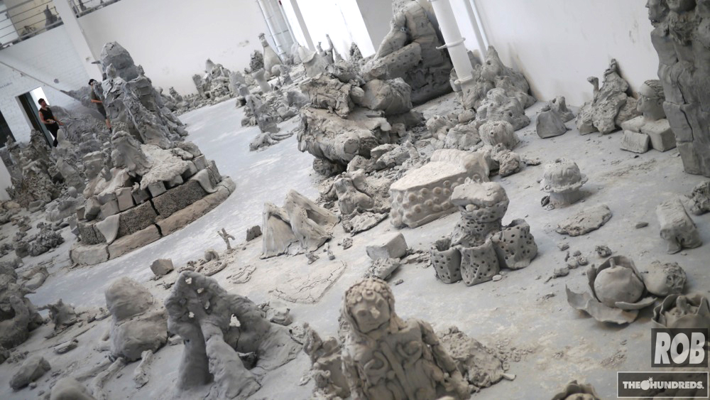moca clay urs fischer
