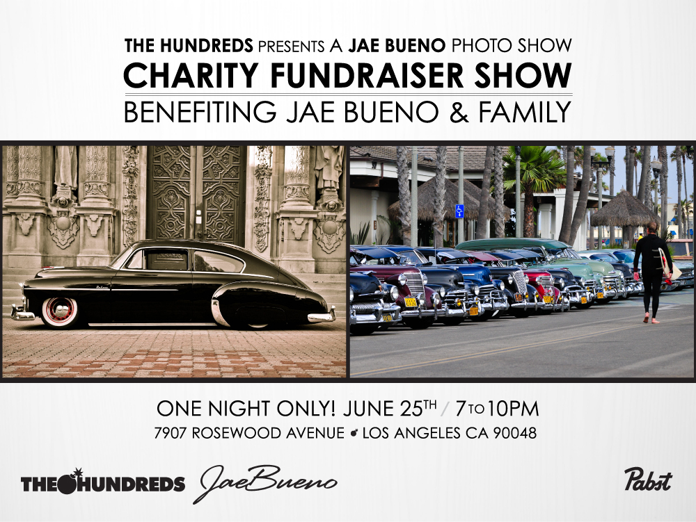 The Hundreds x Jae Bueno Benefit Show - Web Flyer-01