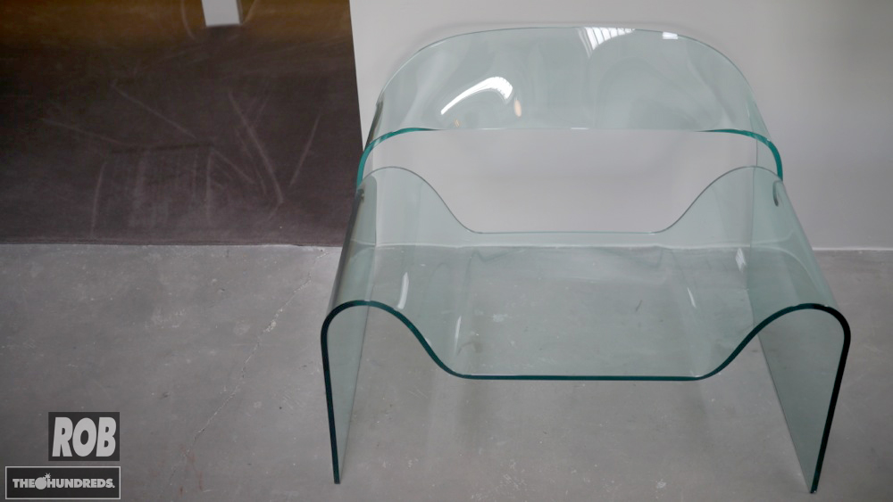 altai glass chair