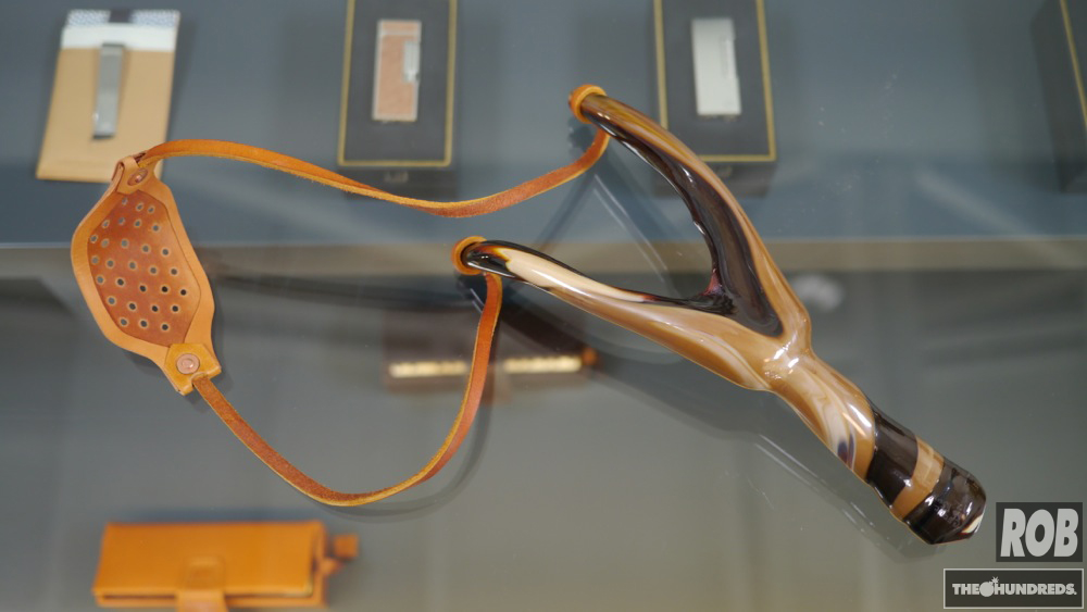 blown glass sling shot