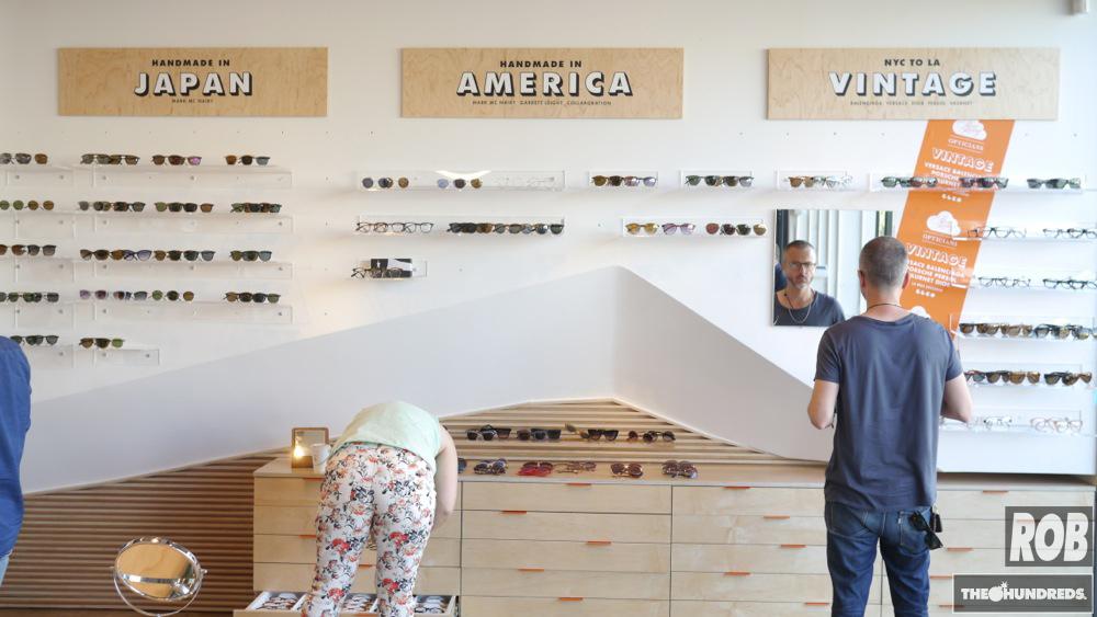 garrett leight store