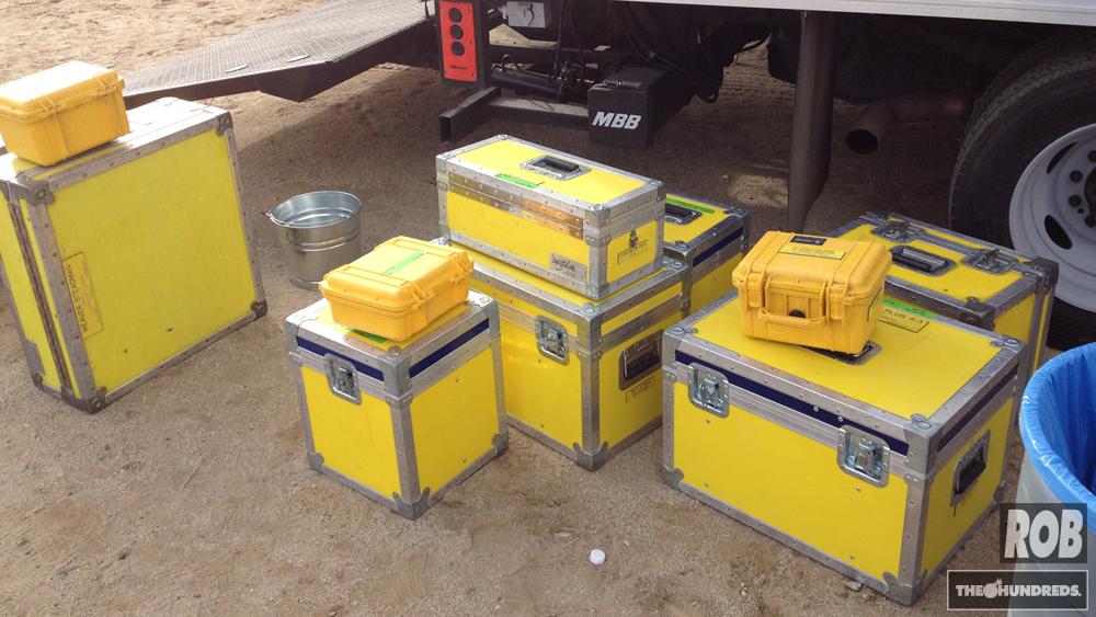 yellow crates