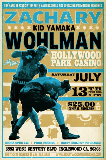 KID YAMAKA FIGHT POSTER smaller