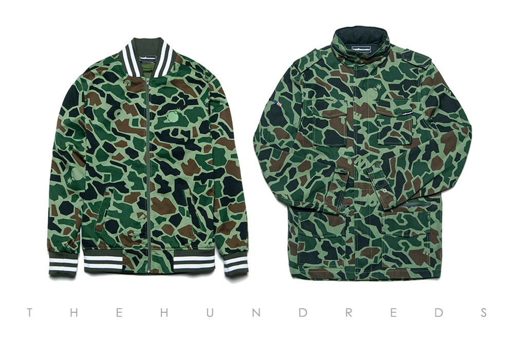 The Hundreds Fall 2013 Duck Camo Collection - Chain Jacket and Axel Jacket