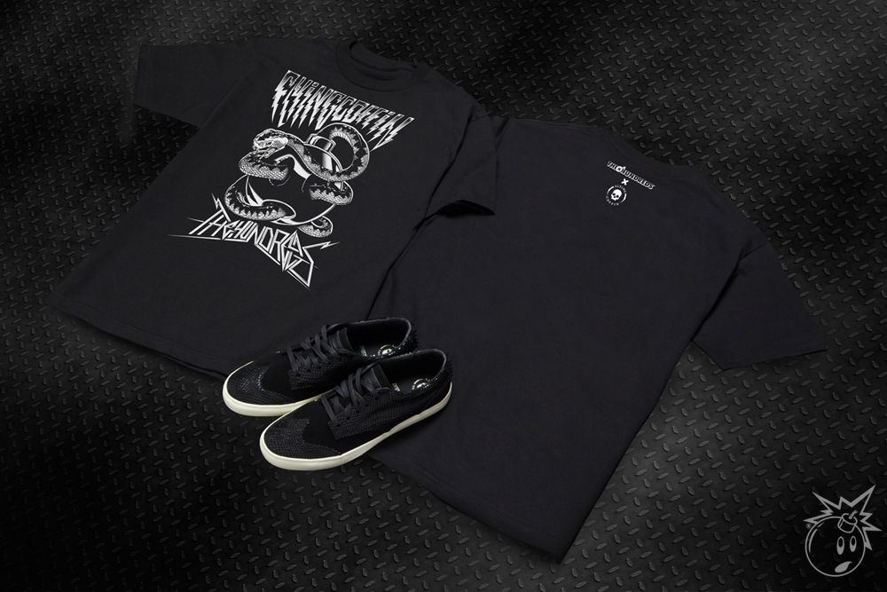The Hundreds x Flying Coffin 2