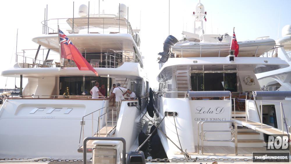 ff1 lola d capri yacht