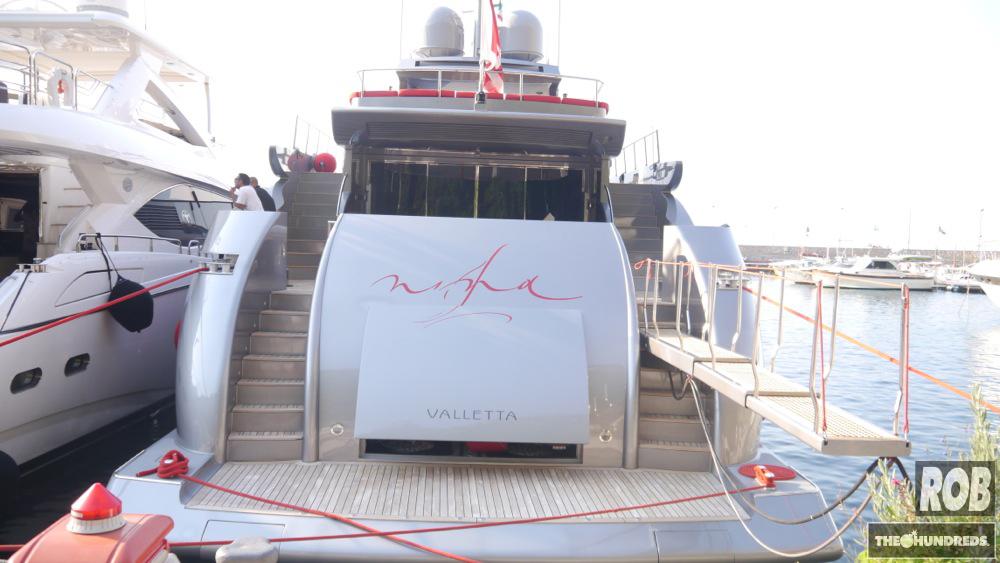 georgio armani yacht