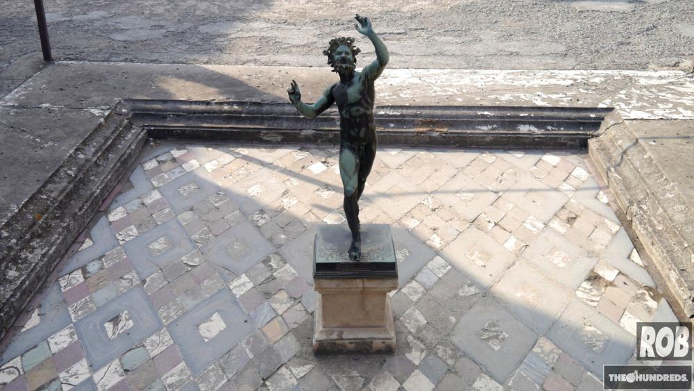 pompeii faun