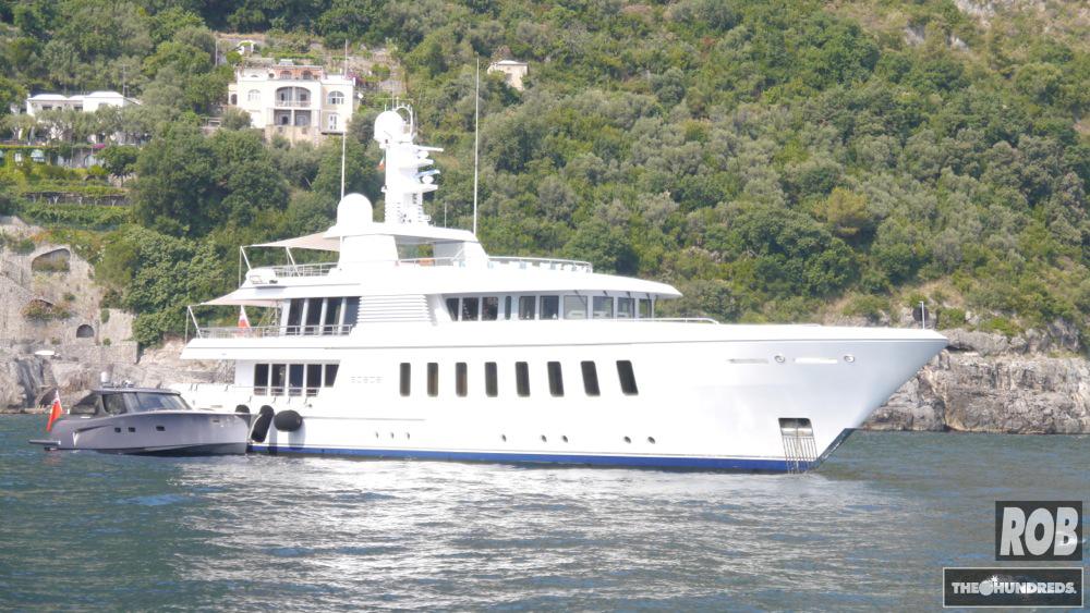 positano yacht