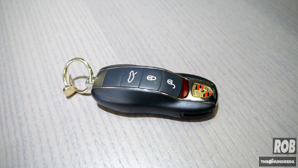 nail keychain