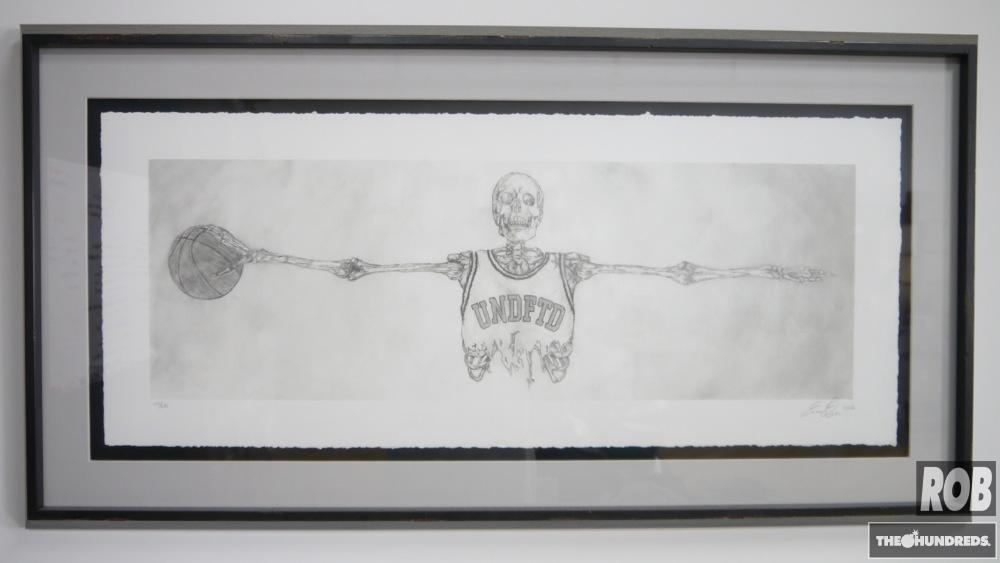 undftd skeleton print