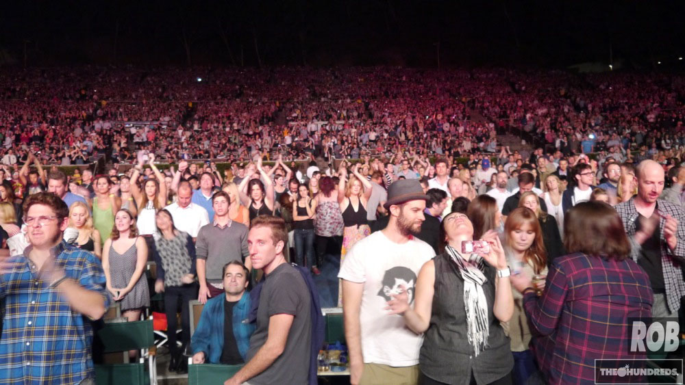 hollywood bowl crowd