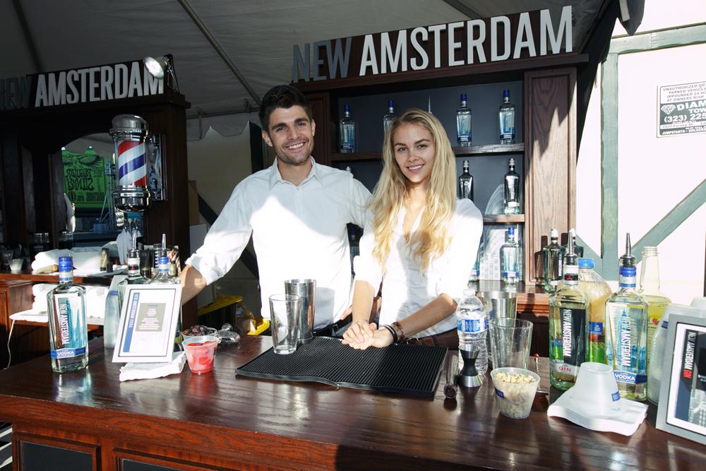 New Amsterdam Gin, Vodka Shave Lounge_Safaeian