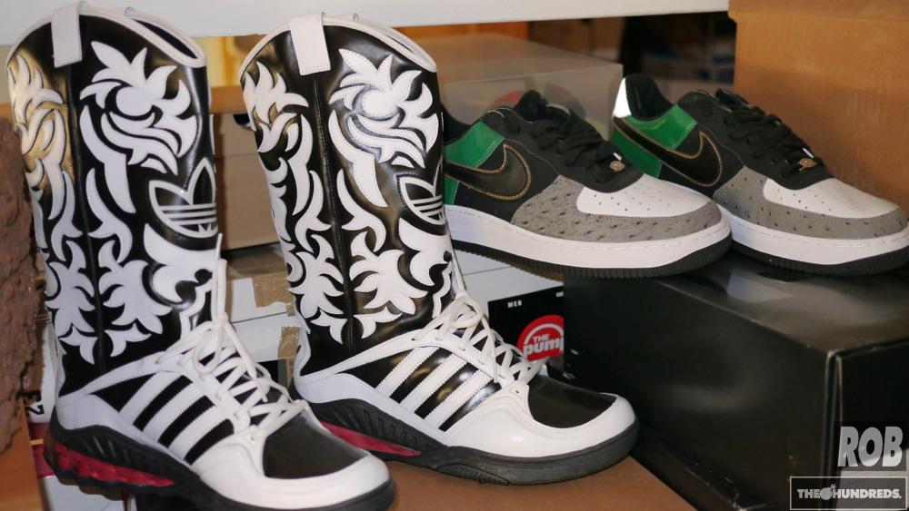 adidas cowboy boot