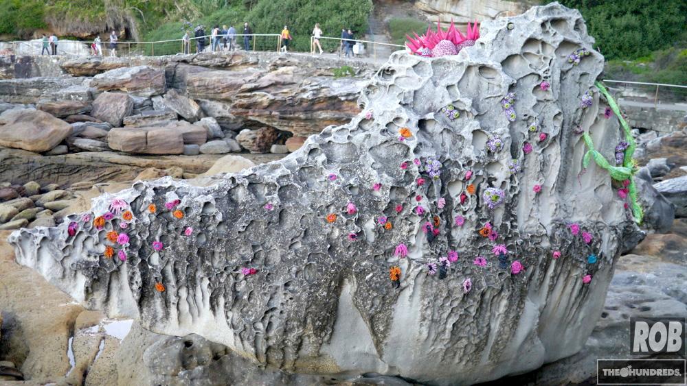 bondi rock sculpture