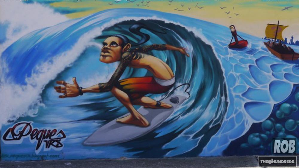 bondi surf mural