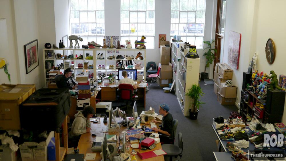 sneaker freaker office