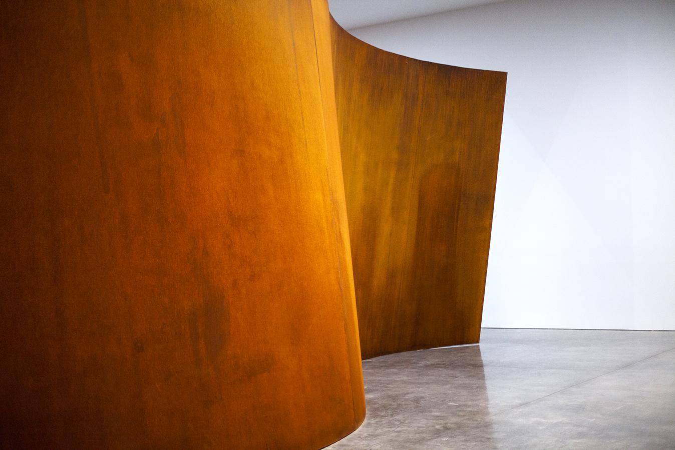 richard serra at gagosian gallery
