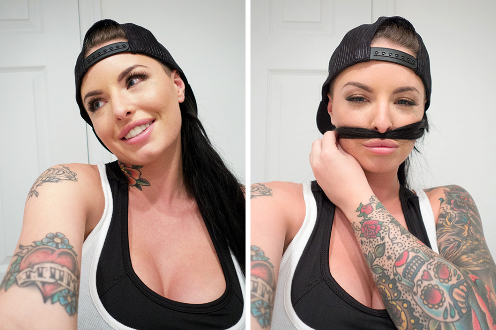 mackmonday, christy mack, porn star, porn star christy mack, selfie of christy mack