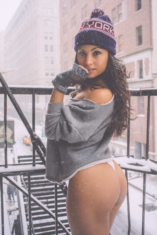 monica alvarez, new york model