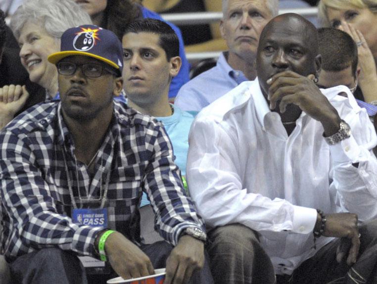 Marcus Jordan, Michael Jordans son,