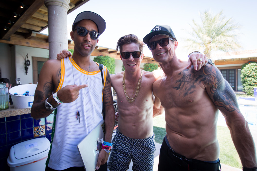 Atiba, Shaun White, Danny Way,