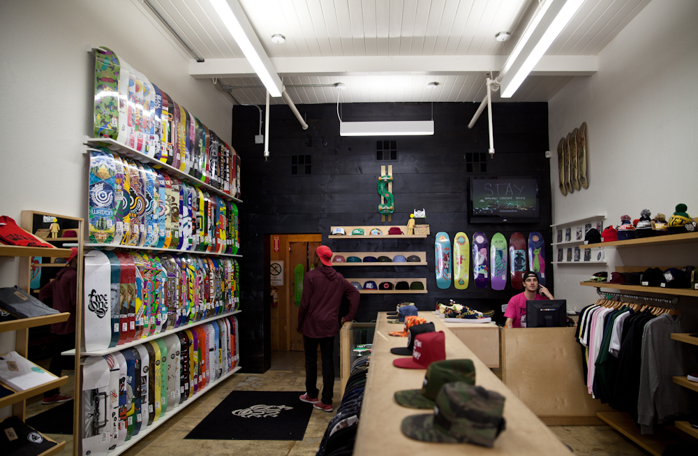 4794727dde A look inside 510 Skateboarding on Telegraph Ave.
