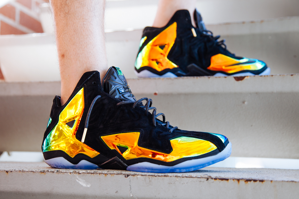 lebron gold. nike lebron xi ext kings crown the hundreds gold h