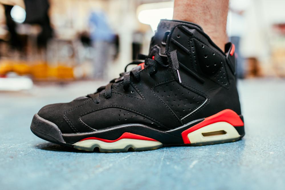 99e27e35fb OLD SOLES    JORDAN VI BLACK  INFRARED    FALL 2000 - The Hundreds