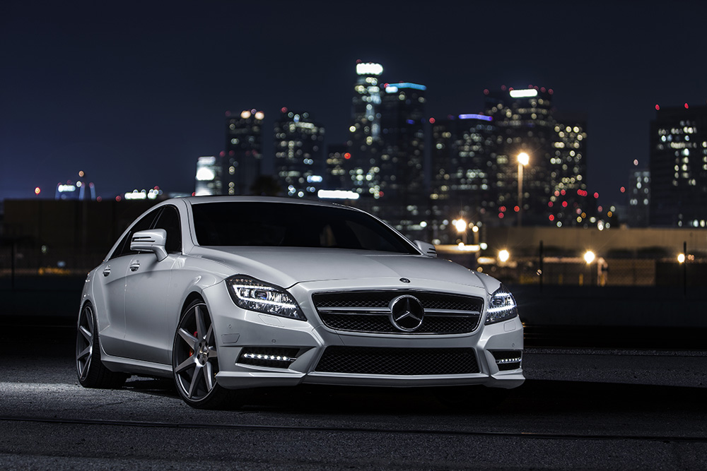 LESS IS MORE  MERCEDES BENZ CLS550  The Hundreds