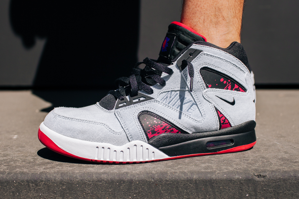 the best attitude 8c3eb 76e0a Nike pays homage to Agassi s fashionable on court appearance with the Denim Tech  Challenge Hybrid which release this Saturday August 23 at select retailers.