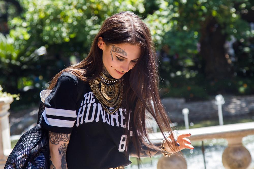 Monami Frost, Tattooed babes, tattoos, tattooed models, monami,