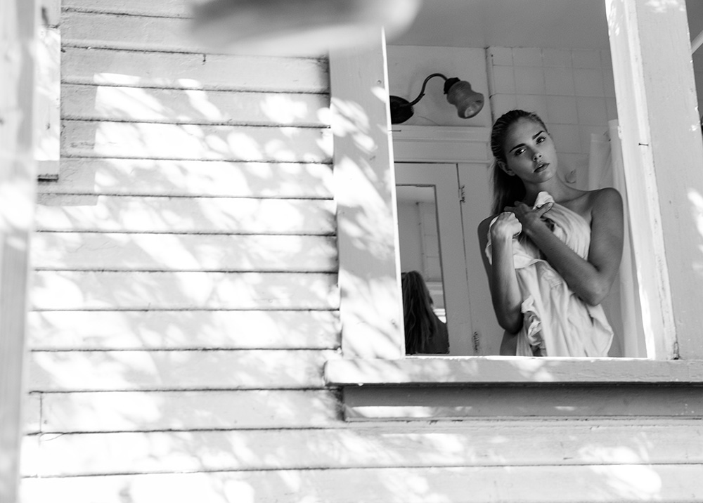 Dani Seitz, DaniSeitz, black and white model photography