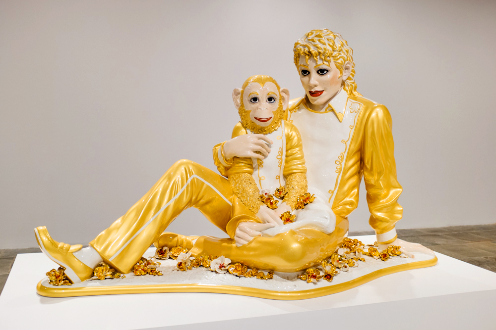 Assez Suspended States at the Jeff Koons Retrospective - The Hundreds JV52