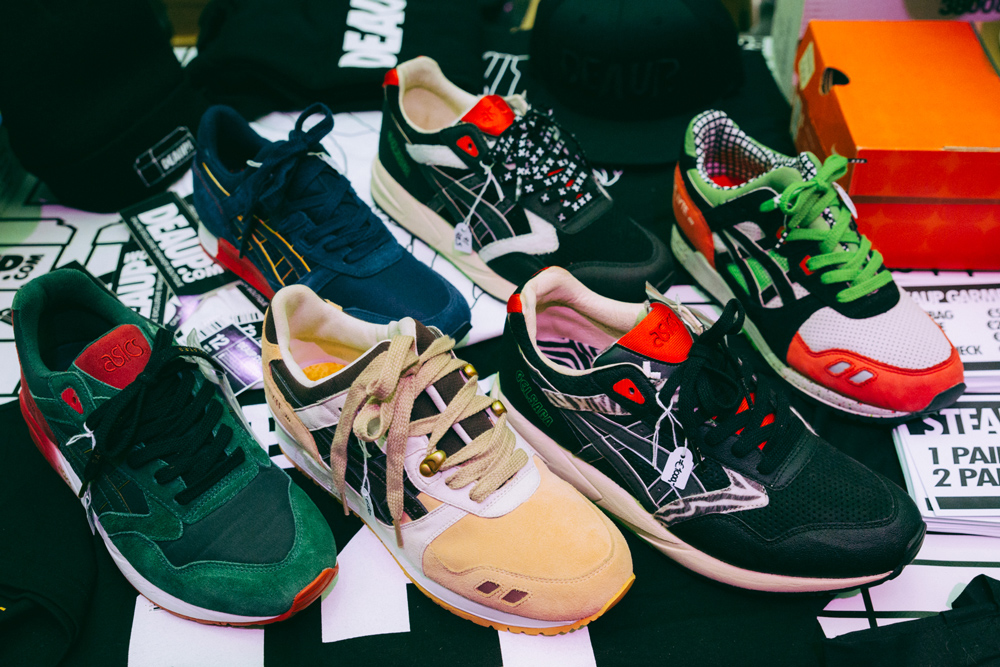 asics, asics samples, various unreleased,