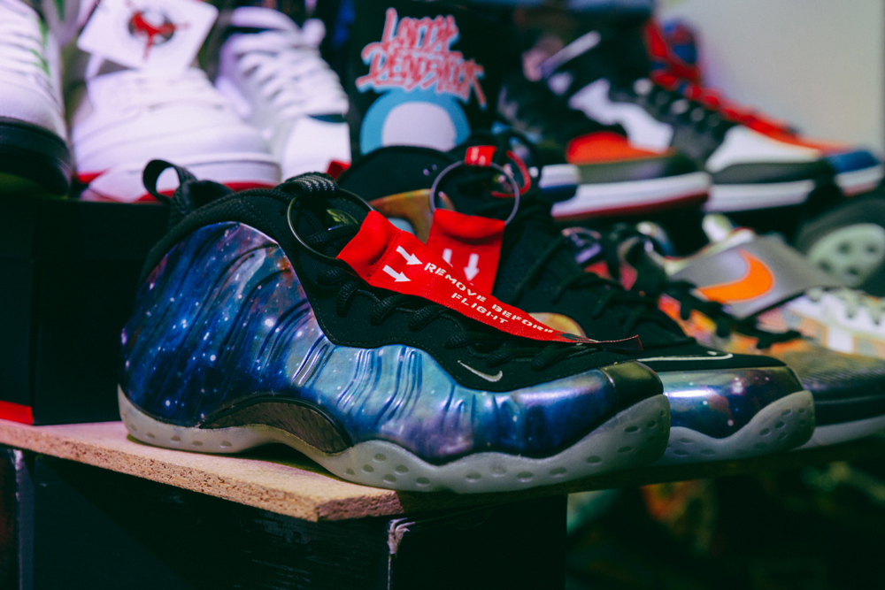 Nike, nike air, Nike air foamposite galaxy