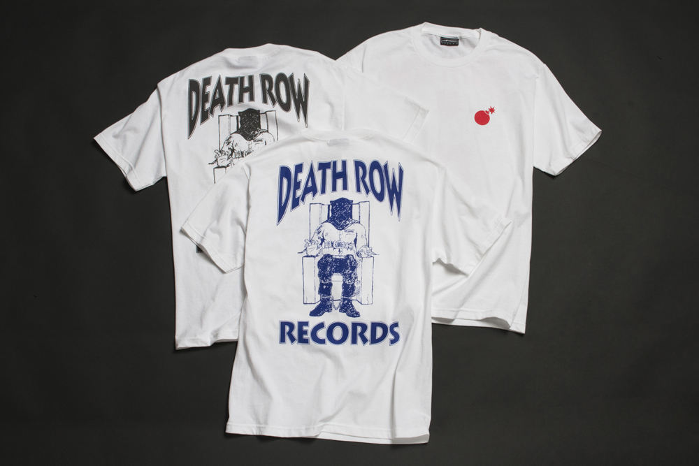 The Hundreds x Death Row, Death Row Collaboration, Death Rows Records, Death Row Records, Death Row Records T Shirt, Death Row Records Tees