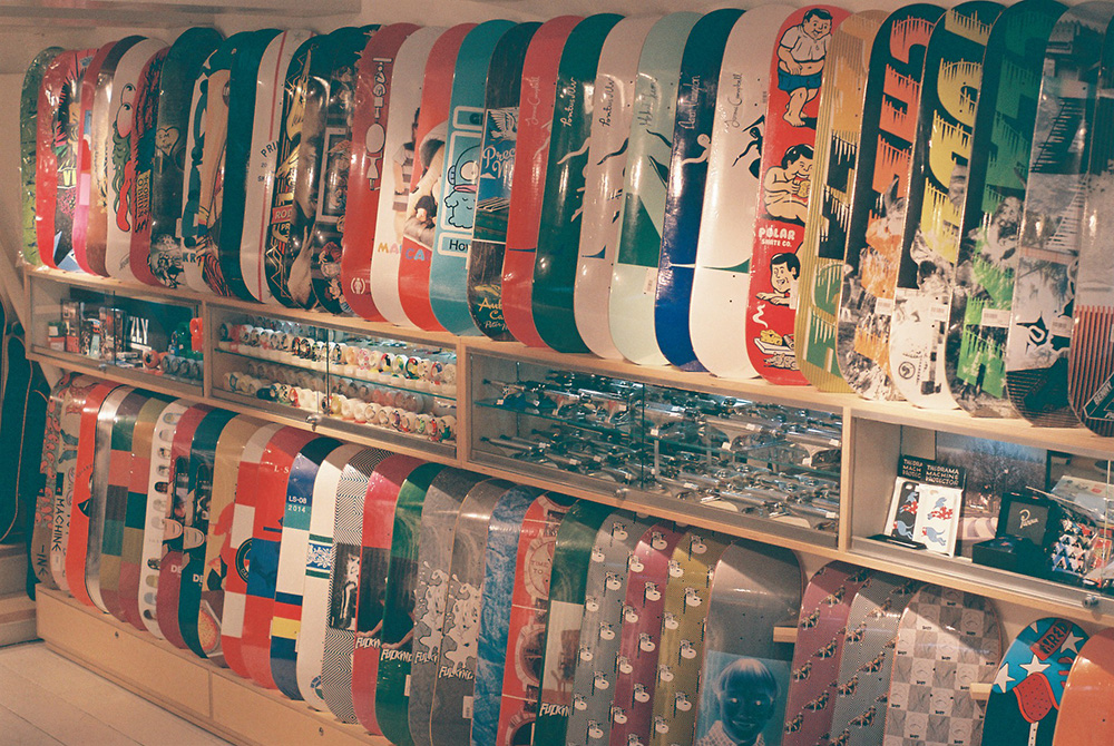 AMSTERDAM'S NOTORIOUS SKATE SHOP BEN-G IS STILL NOT SELLING