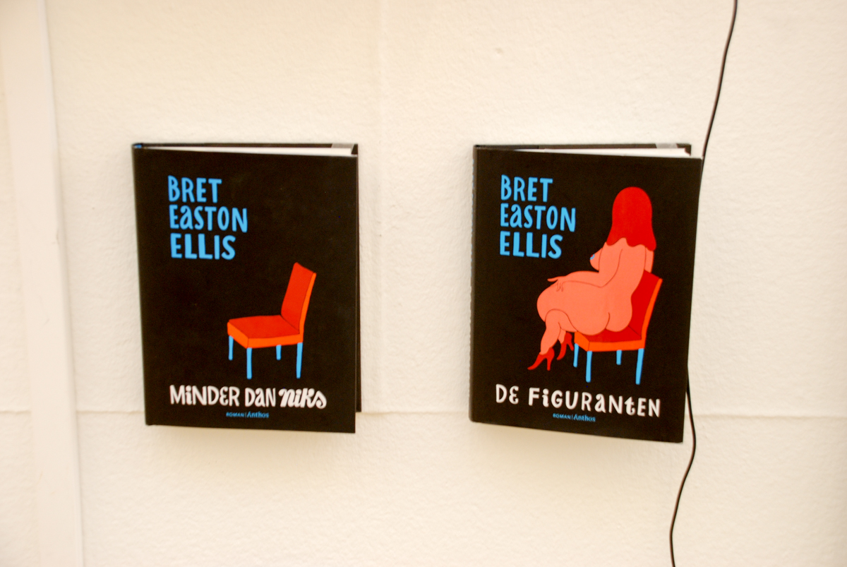 Covers for Bret Easton Ellis  Imperial Bedrooms and Less Than Zero   2010   Roman Anthos. 10 Unique Ways Dutch Artist Piet Parra Introduced His Art to the