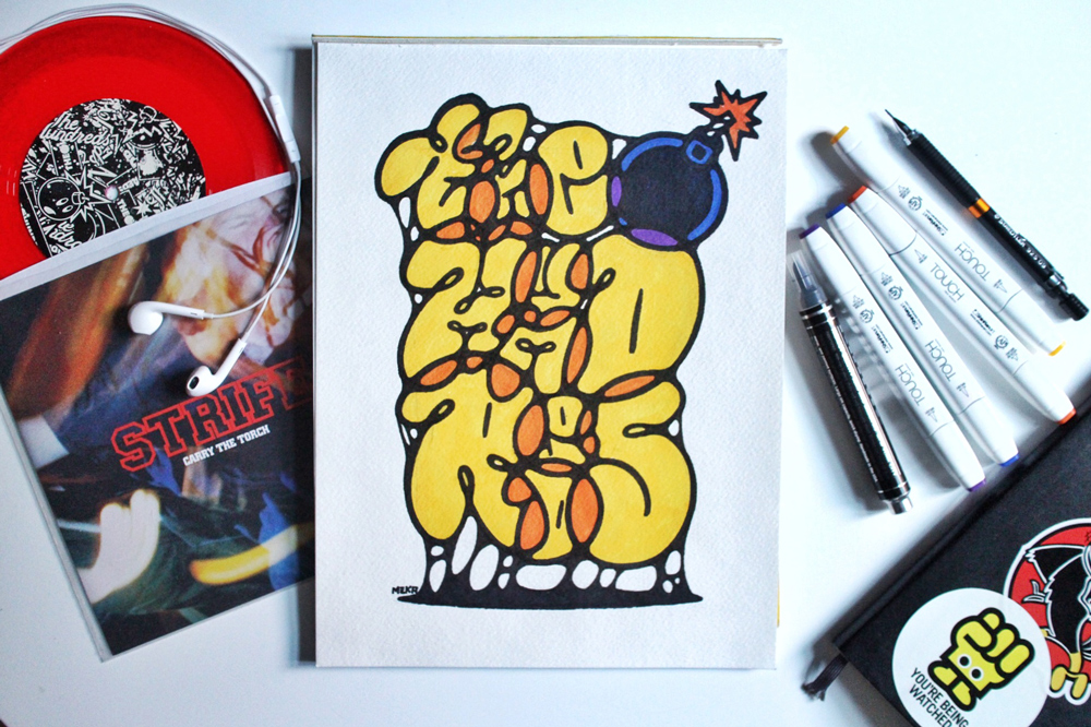 ALWAYS PUSHING :: The Skate and Punk-Influenced Art of MEKA - The ...