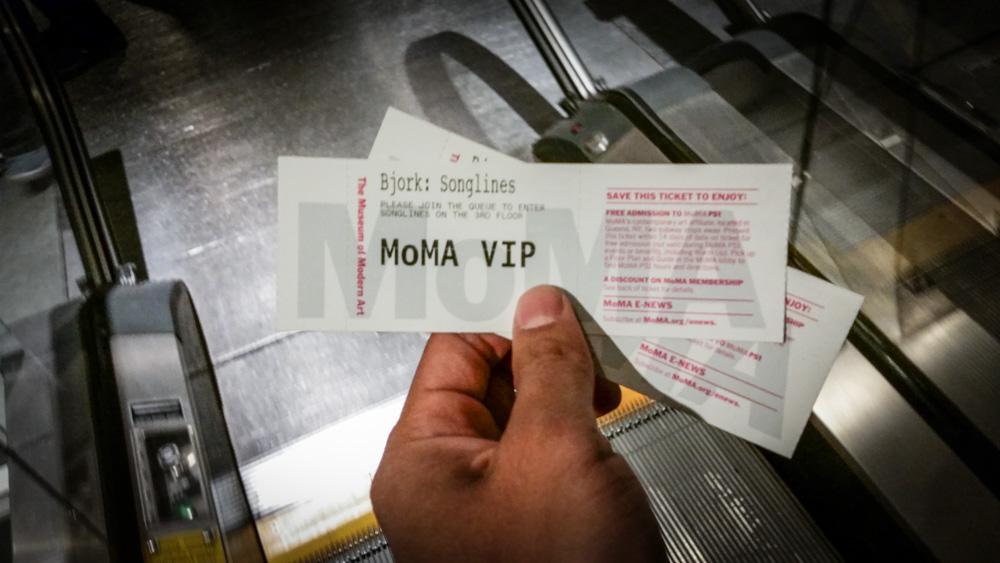 MOMA, Bjork Songlines,