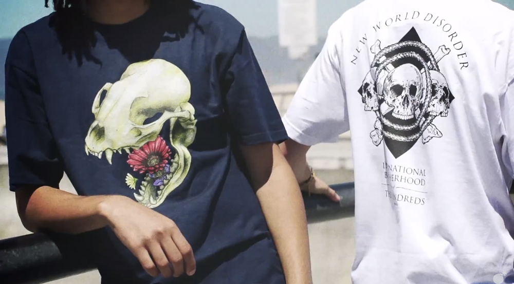 cb37c0681 VIDEO :: First Look at The Hundreds Summer 2015 D1 Graphic T-Shirts ...