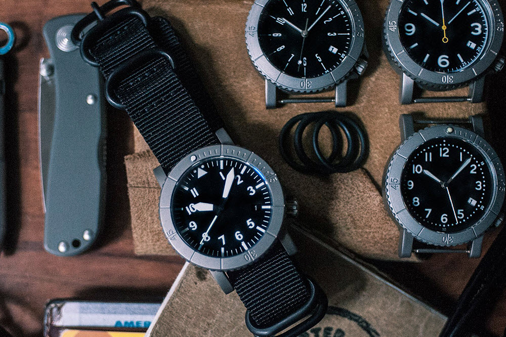 redux courg titanium watch, redux,
